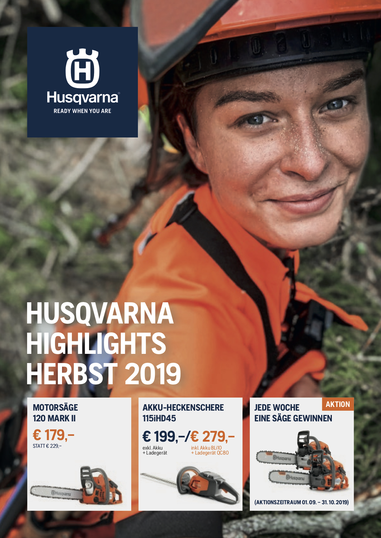 Husqvarna Herbst Highlights 2019
